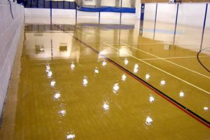Sports Hall Maintenance and Repair